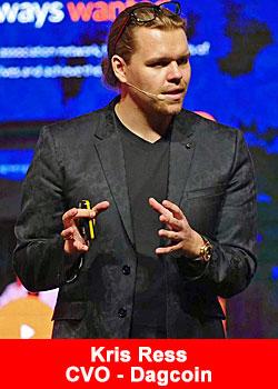 كريس ريس المدير الاقليمي لعملة الداج كوين Dagcoin