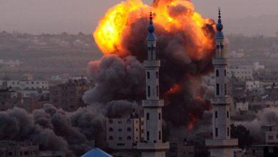 مسجد و منزل و حريق كبير موقع حديث الصباح
