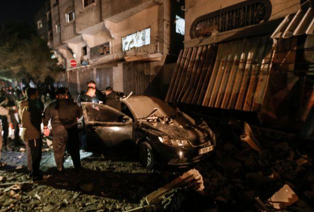 استهداف منزل القيادي في سرايا القدس بهاء ابو العطا