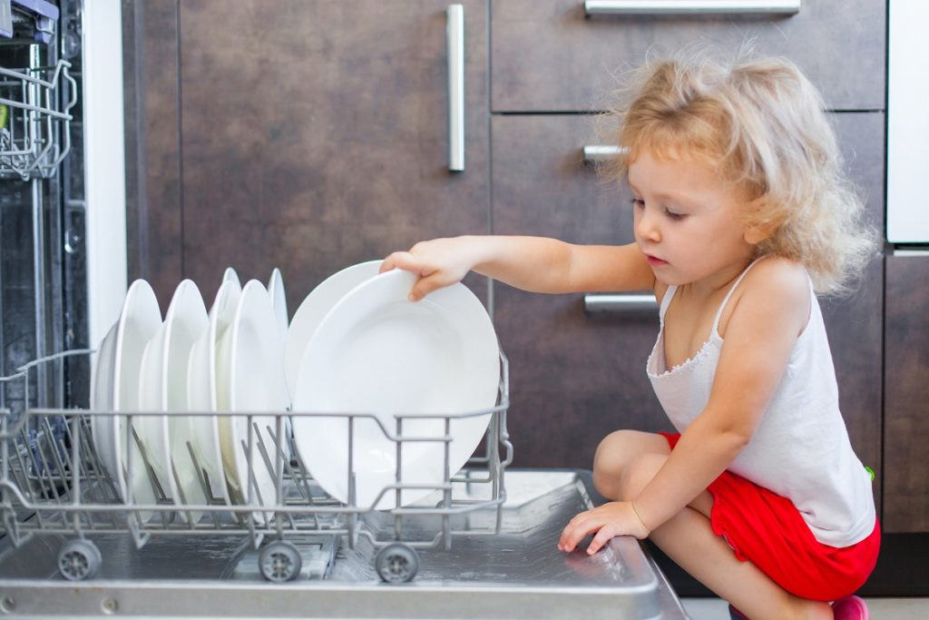 Dishwashers certified by the program NSF