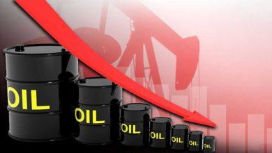 انهيار سعر برميل النفط